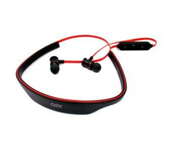 Headset Live Preto Vermelho Oex Hs302