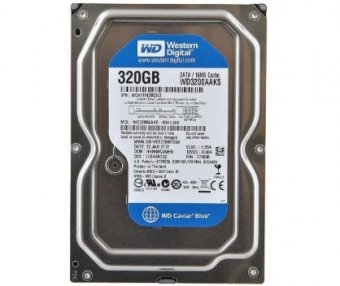 HD 320GB Western Digital Sata II 16Mb Cache WD3200AAKS