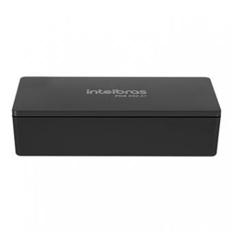 Injetor Conversor POE Ativo Gigabite Ethernet POE 200 AT Intelbras
