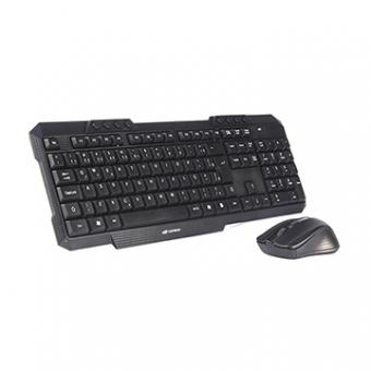 Kit Mouse E Teclado C3TECH K-W10BK Sem Fio USB