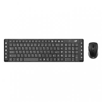 Kit Mouse e Teclado C3TECH K-W50BK Sem Fio USB Preto