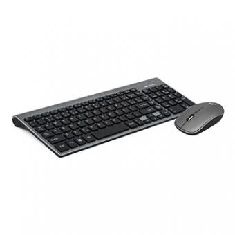 Kit Mouse E Teclado S/ FIO C3TECH K-W510SBK