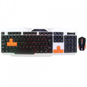 KIT Teclado e Mouse Gamer Oex Ice USB TM300