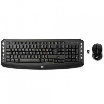 Kit Teclado e Mouse HP Sem Fio LV290AA