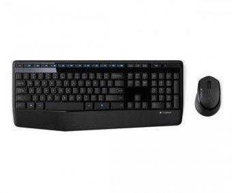 Kit Teclado e Mouse Logitech Mk345 Usb Wireless Preto
