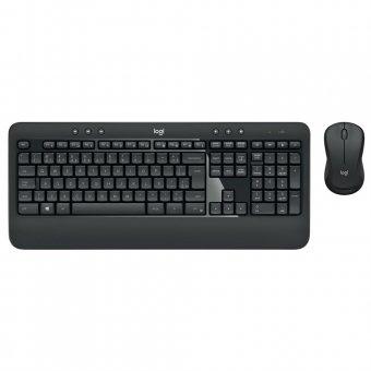 Kit Teclado e Mouse Logitech Mk540 Sem Fio Multimídia Tecnologia Unifying Us