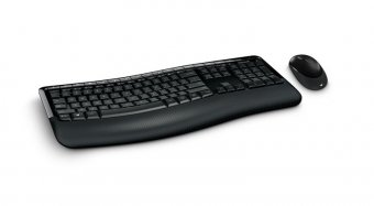 Kit Teclado e Mouse Microsoft S/fio Comfort 5050 PP4-00005