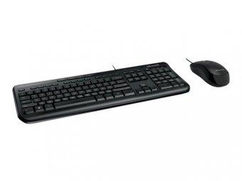 Kit Teclado e Mouse Microsoft Wired Multimidia 600 Preto Usb