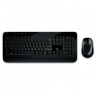 Kit Teclado e Mouse Microsoft Wireless Desktop 2000 Sem Fio M7j-00021 i