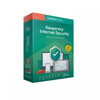 Licença Kaspersky Internet Security 1 Dispositivo