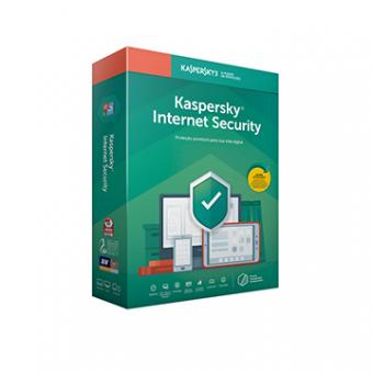 Licença Kaspersky Internet Security 3 Dispositivos