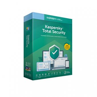 Licença Kaspersky Total Security 3 Dispositivos