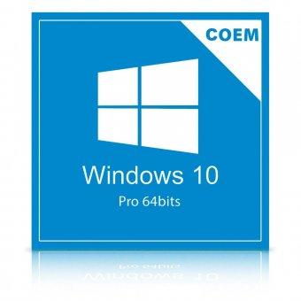 Imagem - Licença Microsoft Windows 10 Pro 64Bits Português FQC-08932 COEM