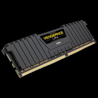 Memoria Corsair DDR4 2400MHz 4GB 1 unit 288 DIMM LPX Black-CMSX4GX4M1A2400C16