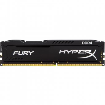 Memória HyperX Fury 4GB 2666MHz DDR4 CL15 HX426C15FB-4 Preto