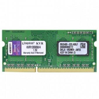 Memória p/ Notebook Kingston 4GB 1333Mhz DDR3 CL9 - KVR13S9S8/4