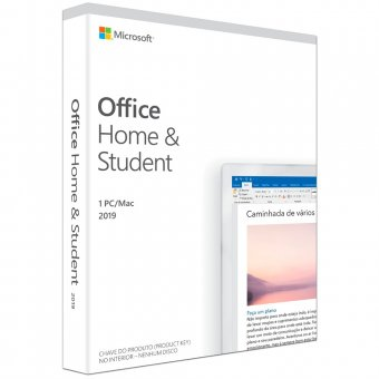 Microsoft Office Home e Student 2019 FPP 79G-05092