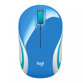 Mini Mouse Logitech M187 S/Fio OPT USB Palace Blue