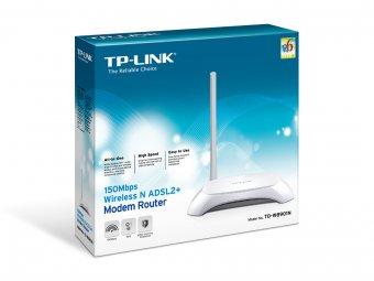 Modem Roteador Wireless TP-Link N ADSL2+ 150 Mbps TD-W8901N
