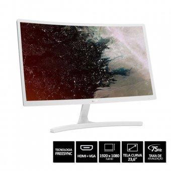 Monitor Acer Curvo Branco 23,6