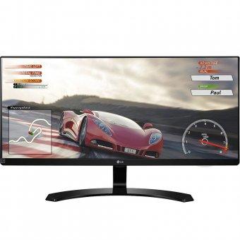 Monitor LG 29 Full HD IPS LED UltraWide 21:9 HDMI Preto 29UM68-P