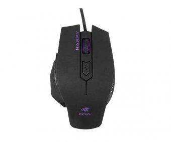 Mouse C3tech Harpy Óptico 3200dpi Preto, Mg-100bk