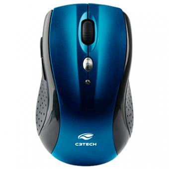 Mouse C3TECH MW-012 BL Sem Fio Nano Receptor Azul