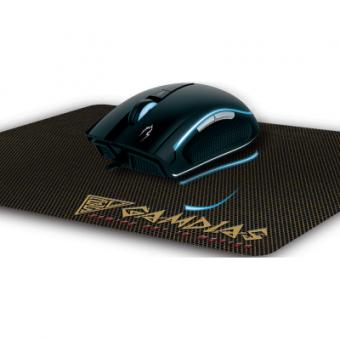Mouse Gamer Gamdias Zeus E1 6 Botões 3200 Dpi Óptico e Mouse Pad Nyx E1