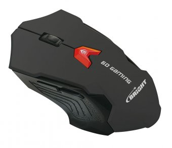 Mouse Gamer Usb Bright Preto 0462 6 Botões