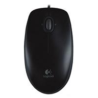 Mouse Logitech M100 OPT USB Preto