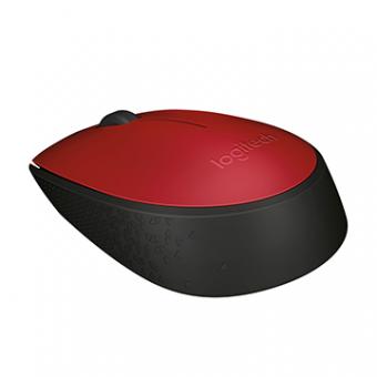 Mouse Logitech M170 S/ Fio RC/Nano Vermelho