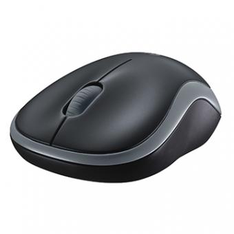 Mouse Logitech M185 Sem Fio RC/Nano Preto