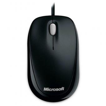 Mouse Microsoft Com Fio U81-00010 USB Preto Compact