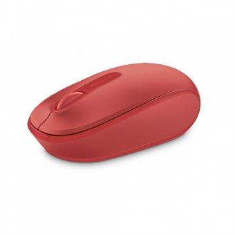 Mouse Óptico Microsoft 1850 sem Fio U7Z-00038 Red