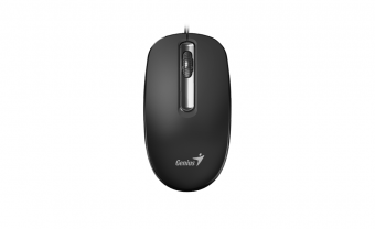Mouse óptico preto 1000DPI DX-130 USB Genius