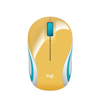 Imagem - Mouse Sem Fio M187 Mini Amarelo 910-005365