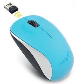 Mouse Wireless Genius Nx-7000 Blueeye Azul 2,4 Ghz 1200 Dpi