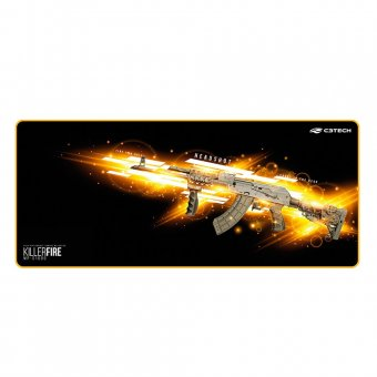 Mousepad Gamer C3 Tech 700x300mm Control Com Borda Costurada Mp-g1000