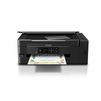 Multifuncional Epson EcoTank L495, Jato de Tinta, Colorida, Wireless