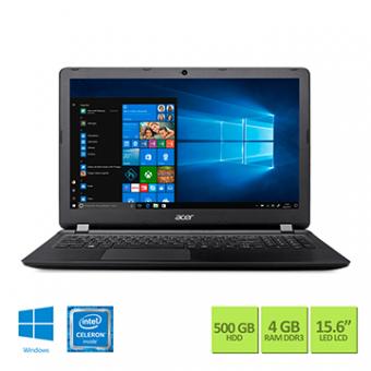 Notebook Acer 15,6 Led ES1-533-C8GL Celeron DC N3350 4GB 500GB W10 SL Tec Numerico