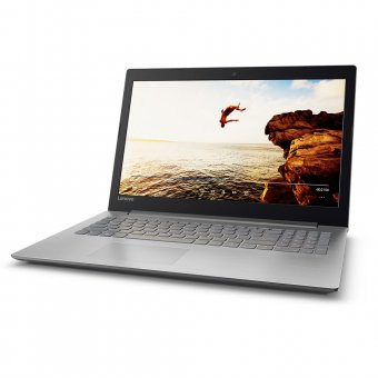 Notebook Lenovo 320-15ikb I7-7500u, 8gb, 1tb, Nvidia Geforce 940mx 2gb, Windows 10 Home, Prata, 80yh0001br
