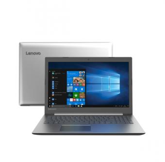 Notebook Lenovo 320 Intel Core i3-6006U 4GB 1TB Windows 10 Prata