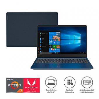 Notebook LENOVO 330S-15ARR RYZEN7-2700U 8GB 1TB W10H AMD Radeon 540 2GB
