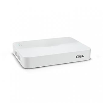 NVR GIGA 4MP GS0128 8 Canais Prime POE S/HD Em Rede