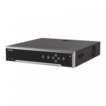 NVR Hikvision 8MP 4K DS-7732NI-K4/16P 32 Canais C/16 POE S/HD