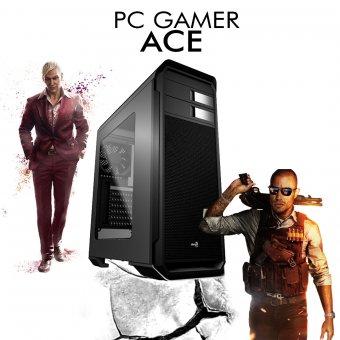 PC Gamer InfoParts ACE - Intel I7 8700, RX 550 4GB, 1TB, 8GB RAM