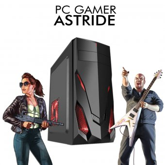 PC Gamer InfoParts Astride - Intel CORE I3-8100, Rx 550 2GB, 1TB, 8GB RAM