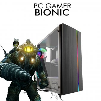 PC Gamer InfoParts Bionic - Intel CORE i3-8100, Gtx 1660TI 6GB, 1TB, 8GB RAM