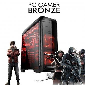Imagem - PC Gamer InfoParts BRONZE - Intel Core i5-8400, GTX 1050 2GB, 1TB, 8GB RAM