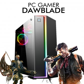 Pc Gamer InfoParts Dawblade - Intel CORE I3-8100, R9 380 2GB, 1TB, 8GB RAM